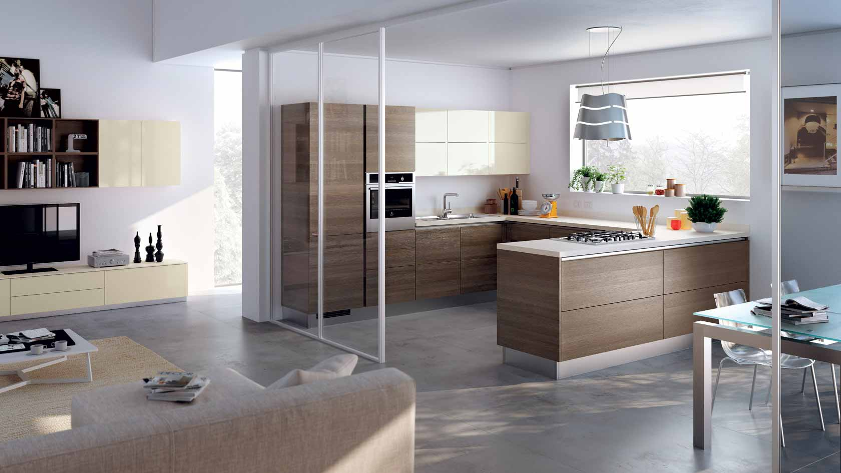 Residenza Cascina Gaita Cucina Scavolini 03